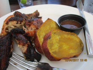 Blog Jerk Chicken Yam
